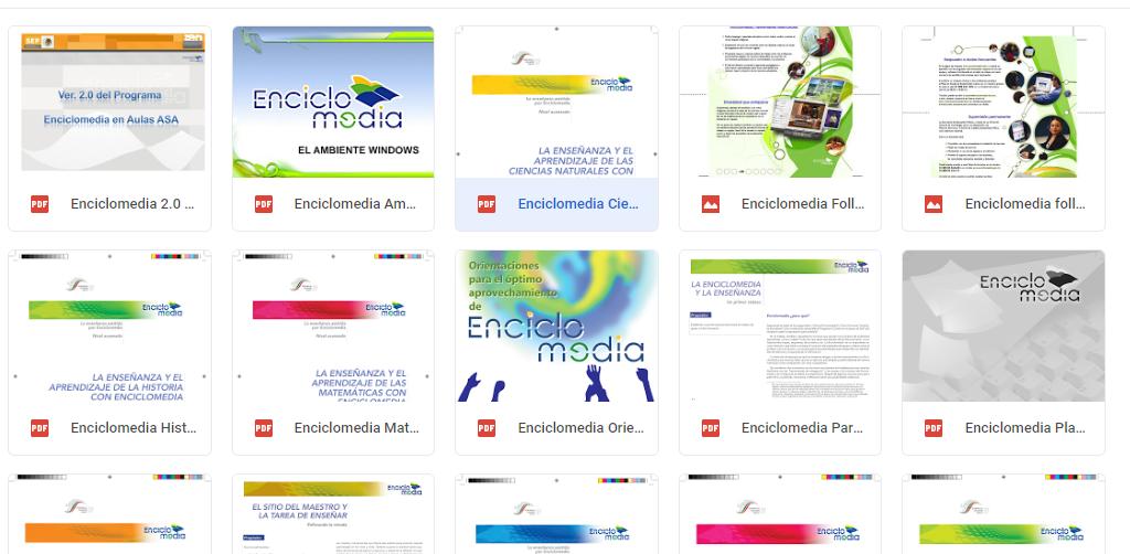 enciclomedia sep primaria