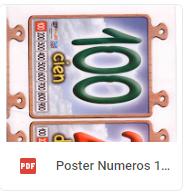 poster 100 vaquero