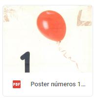 poster globos 1 al 20