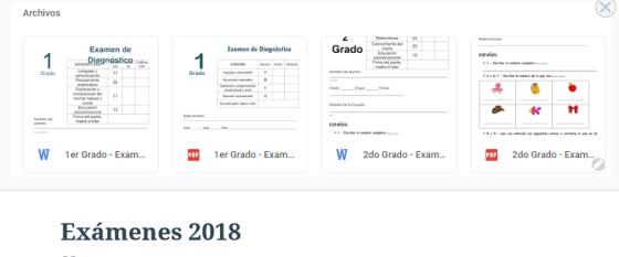 word examen agosto 2018